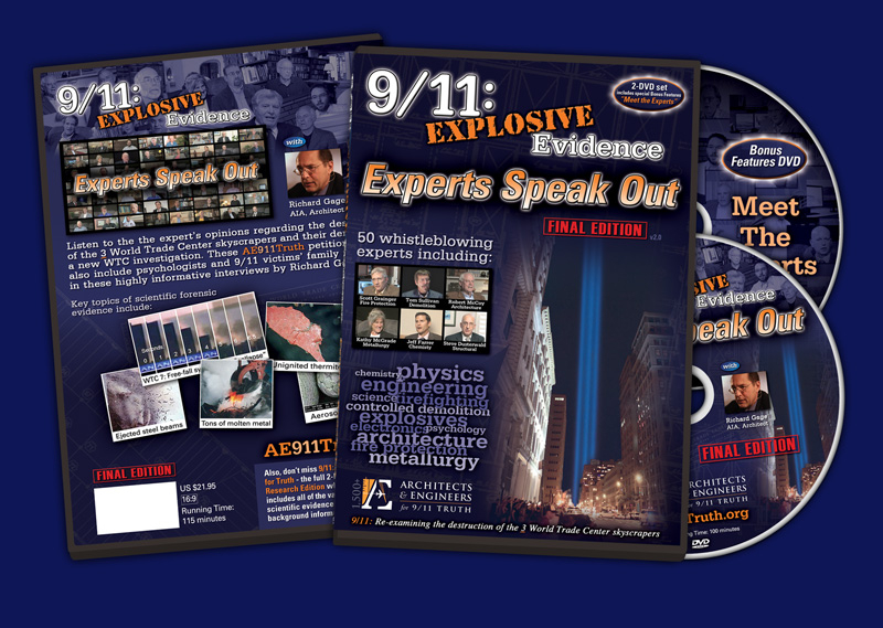 Doppel-DVD &quot;9/11: Explosive Evidence - Experts Speak out&quot; endlich erhltlich