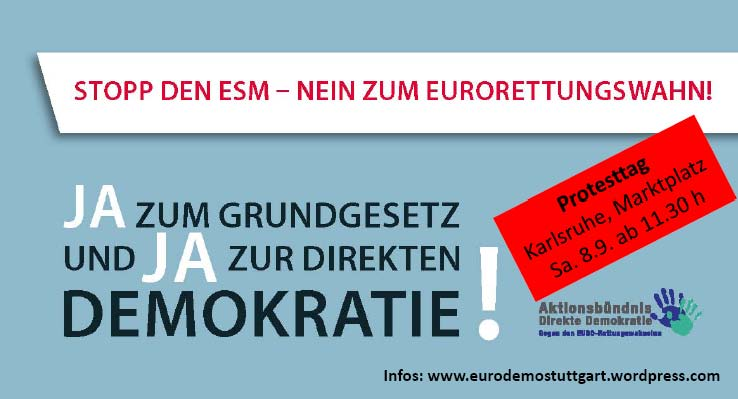 #StoppESM: Fr Republik und Grundgesetz!
